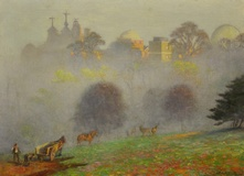 Autumn mists, Royal Observatory, Greenwich