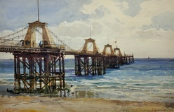 The Royal Suspension Chain Pier, Brighton 1896