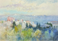 Constantinople 1906, Golden Horn, Early Morning