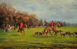 The Fernie Hunt, Opening Meet at Gumley