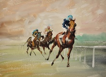 A Three Horse Race, 1963